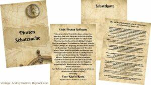Bevorzugt Piraten Schatzsuche | Kindheit in Bewegung FQ92
